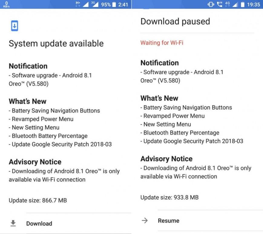 Смартфоны Nokia 5 и Nokia 6 начали обновляться до Android 8.1 Oreo