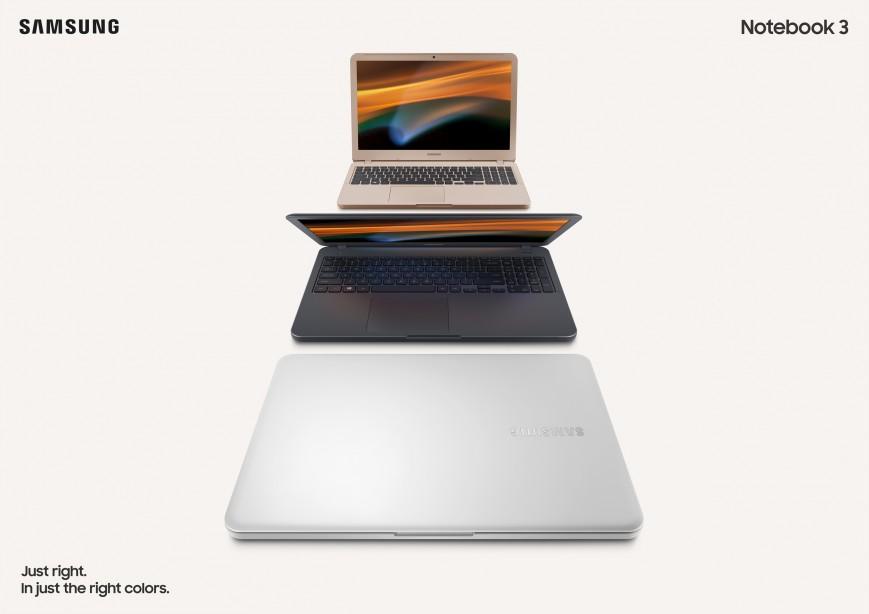 Samsung представила ноутбуки Notebook 3 и 5