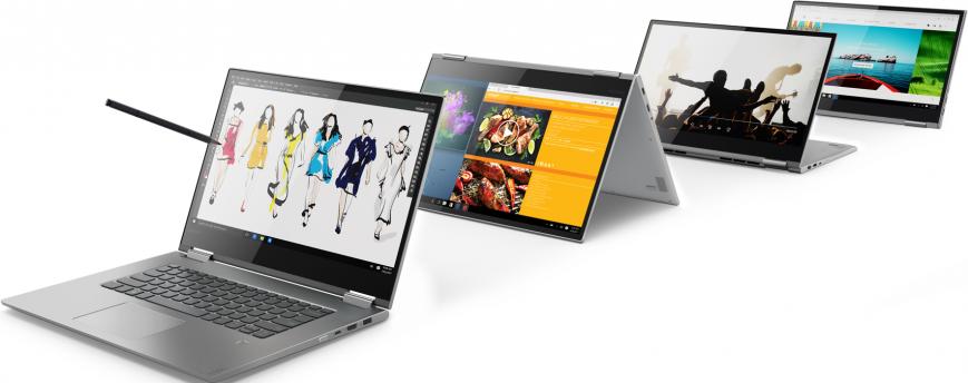 Перевертыши Lenovo Yoga 730, 530 и 330 вышли в России