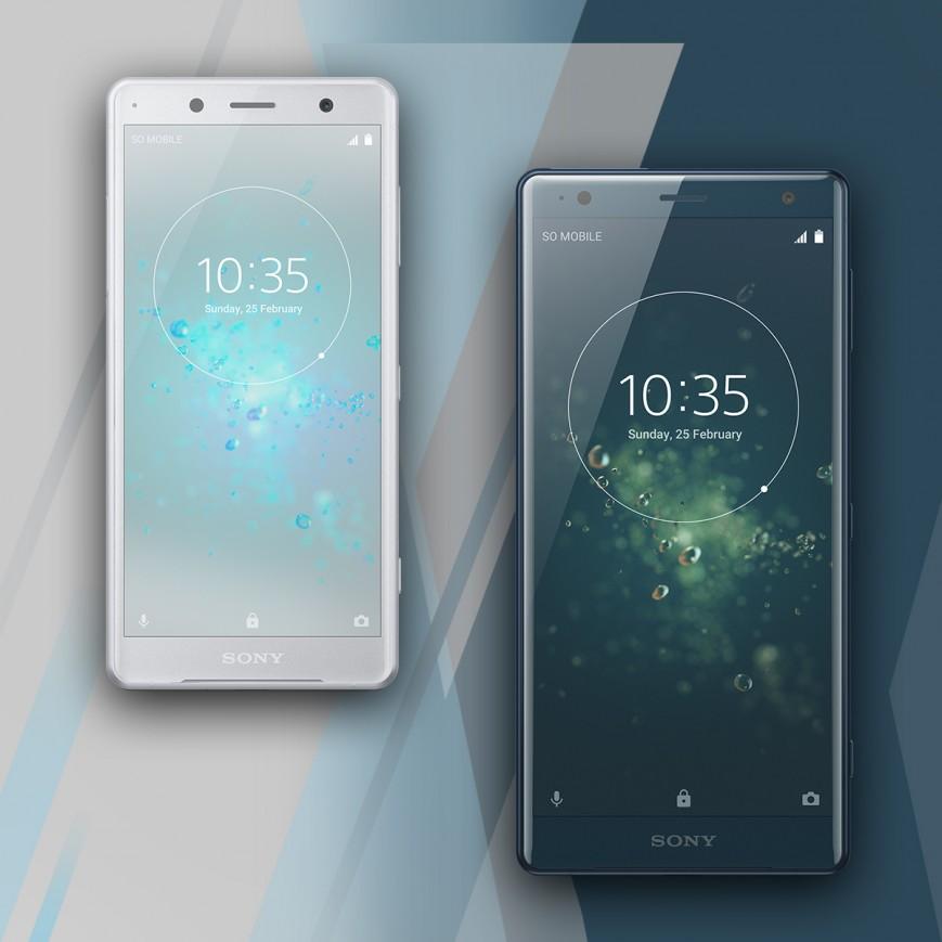 Sony Xperia XZ2 и Xperia XZ2 Compact