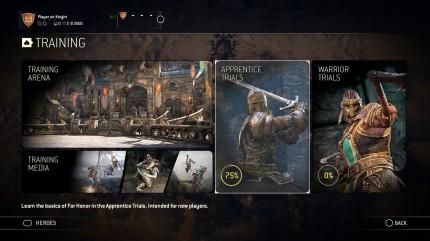 Ubisoft запускает новый тренировочный режим в For Honor