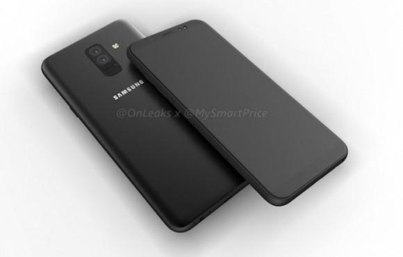 Смартфоны Samsung Galaxy A6 и A6 Plus показались на рендерах и видео