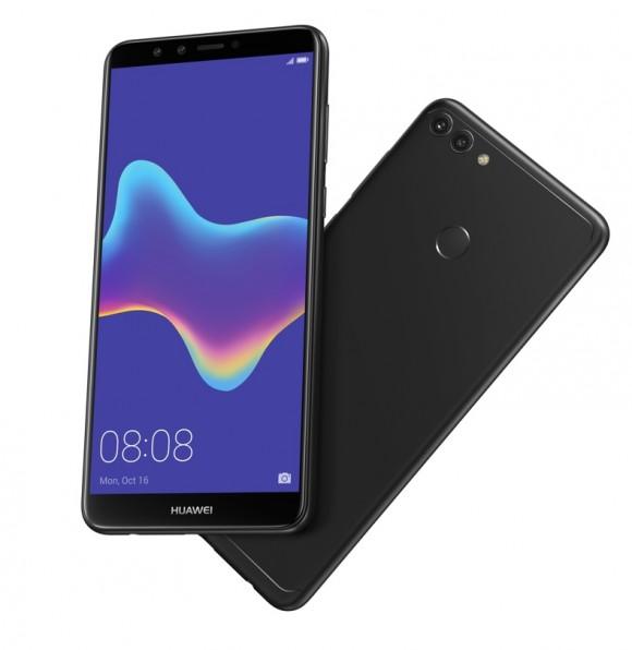 Смартфон Huawei Y9 2018 с четырьмя камерами вышел в России