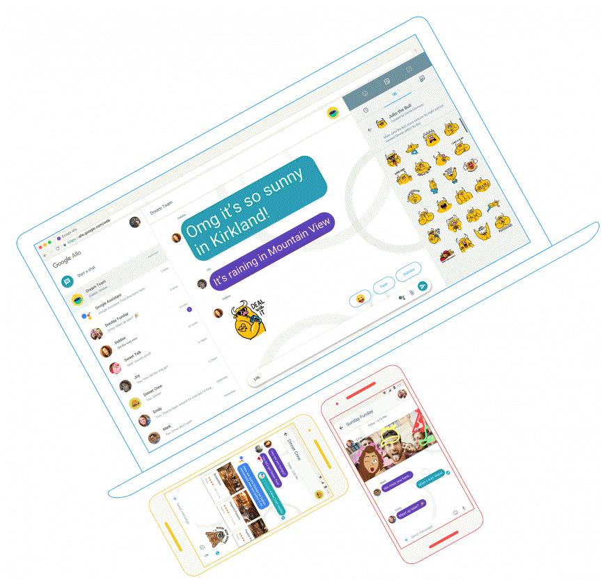Google готовит новый Chat и прекращает разработку Allo