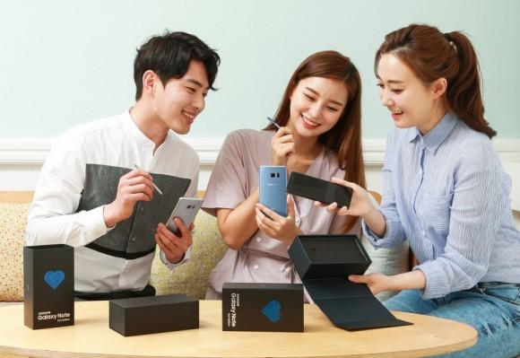 Невзрывающийся Samsung Galaxy Note 7 обновился до Android 8.0 Oreo