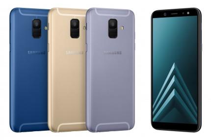 Samsung представила Galaxy A6 и A6+