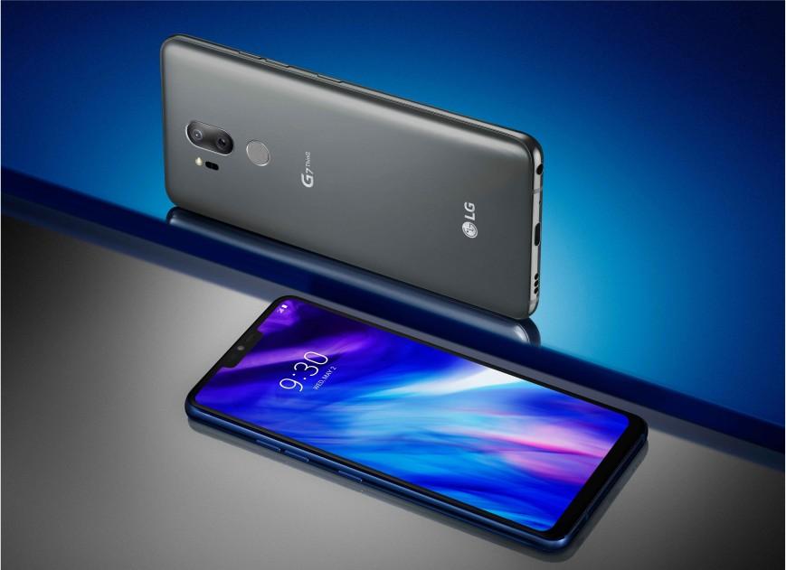Флагманский смартфон LG G7 ThinQ представлен официально