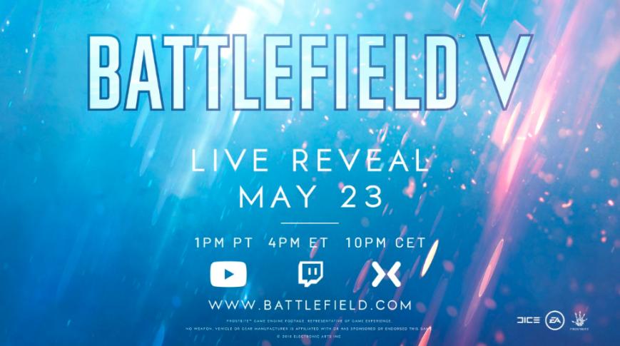 Electronic Arts подтвердила название и дату анонса следующей Battlefield