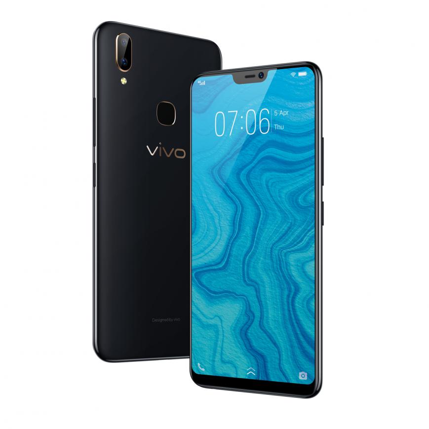 В России выходит недорогой безрамочный смартфон Vivo V9 Youth