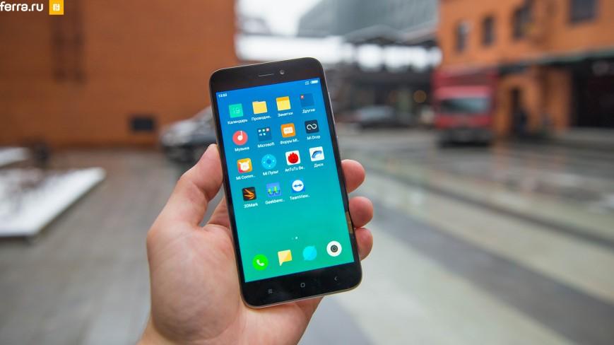 Xiaomi Redmi 5A стал самым популярным Android-смартфоном