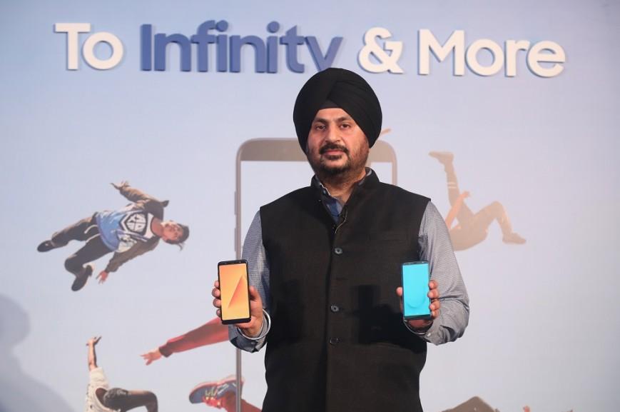 Samsung представила недорогие безрамочные Galaxy J6, J8, A6 и A6+