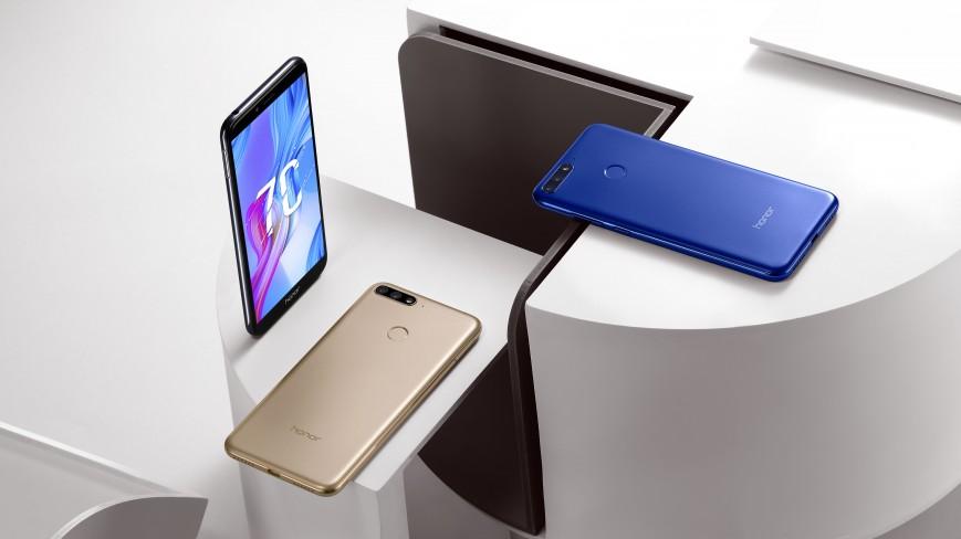 Бюджетный безрамочный смартфон Huawei Honor 7C выходит в России