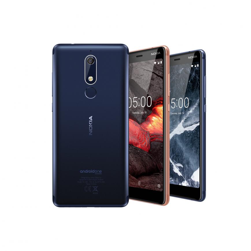 Стильный Nokia 5.1 представлен в Москве