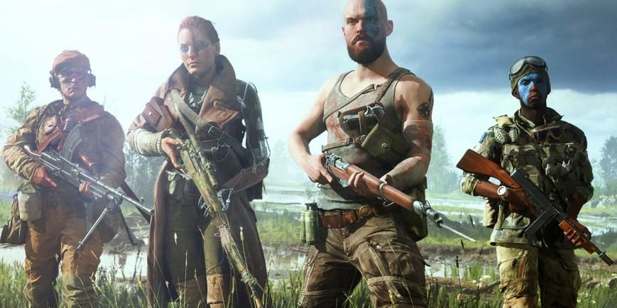 «Такой Второй мировой вы ещё не видели»: Battlefield V стартует только с британцами и немцами