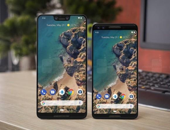 Смартфон Google Pixel 3XL получит 6,2-дюймовый дисплей с «бровью»