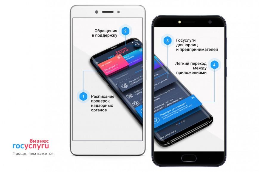 Минкомсвязи запустило мобильное приложение «Госуслуги Бизнес»