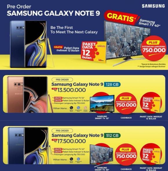 Samsung рассекретила цену Galaxy Note 9
