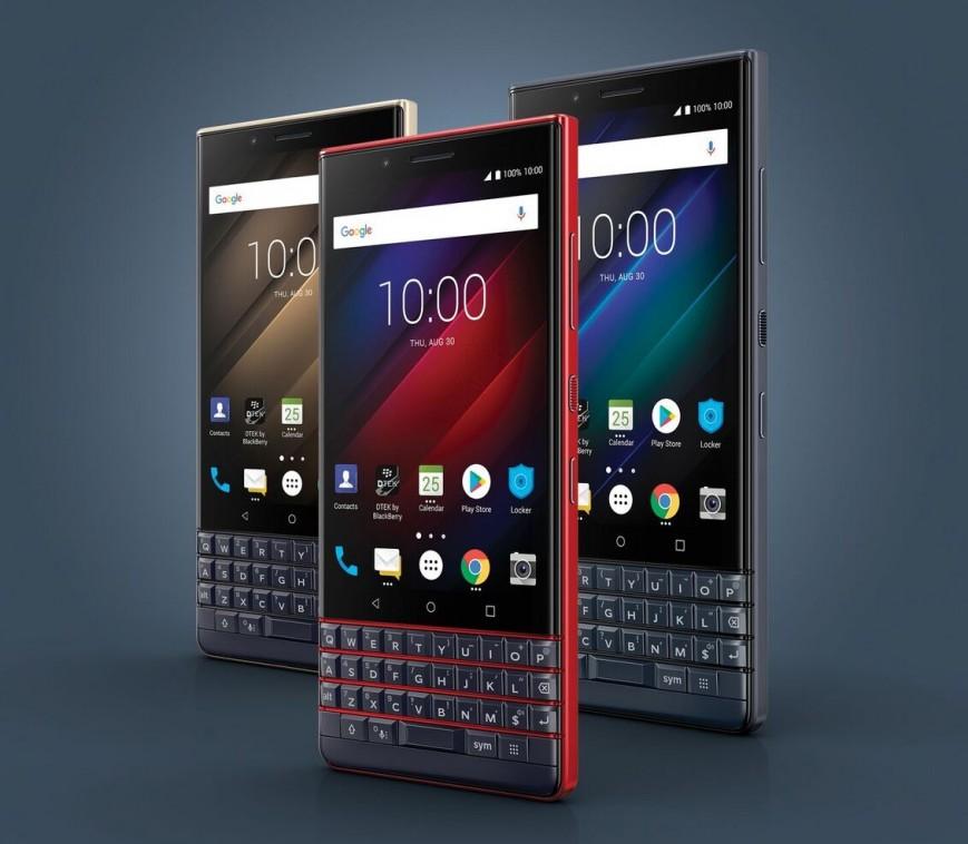 Состоялся анонс нового QWERTY-смартфона BlackBerry
