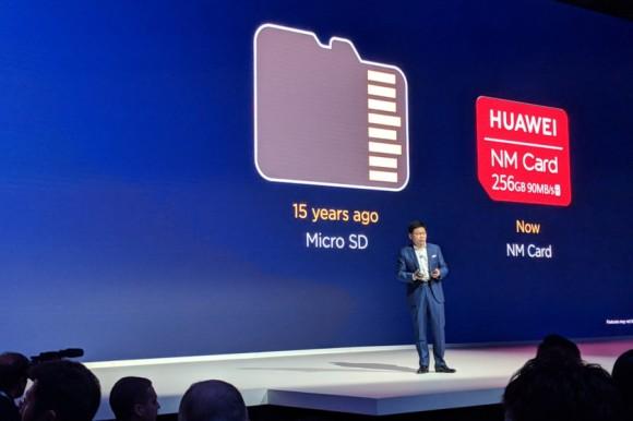 Huawei пытается навязать новый стандарт карт памяти с выпуском смартфонов Mate 20 и Mate 20 Pro