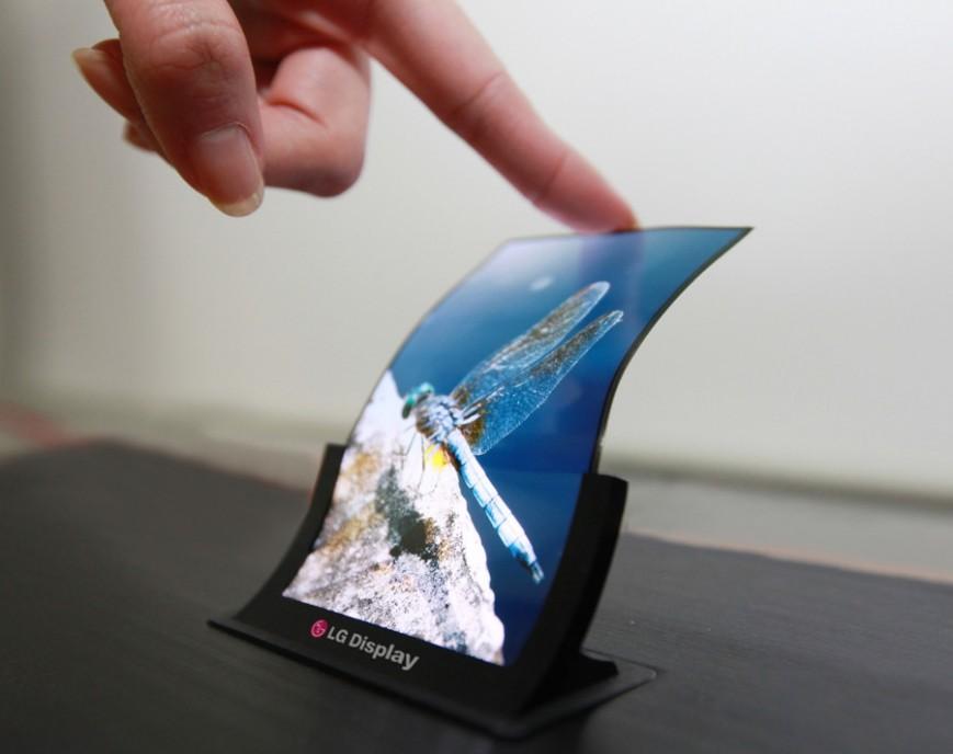 LG представит складной смартфон в начале января в Вегасе
