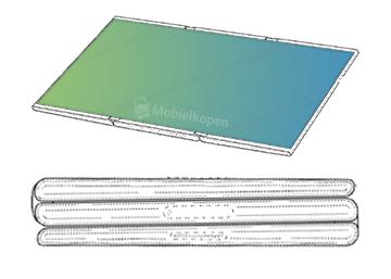 Гибкий планшет Samsung можно будет складывать в несколько слоев