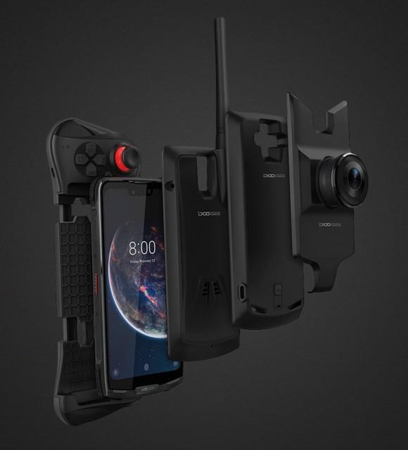 Doogee готовит первый модульный защищенный смартфон