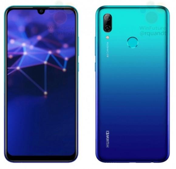 Раскрыты характеристики и цена Huawei P Smart 2019