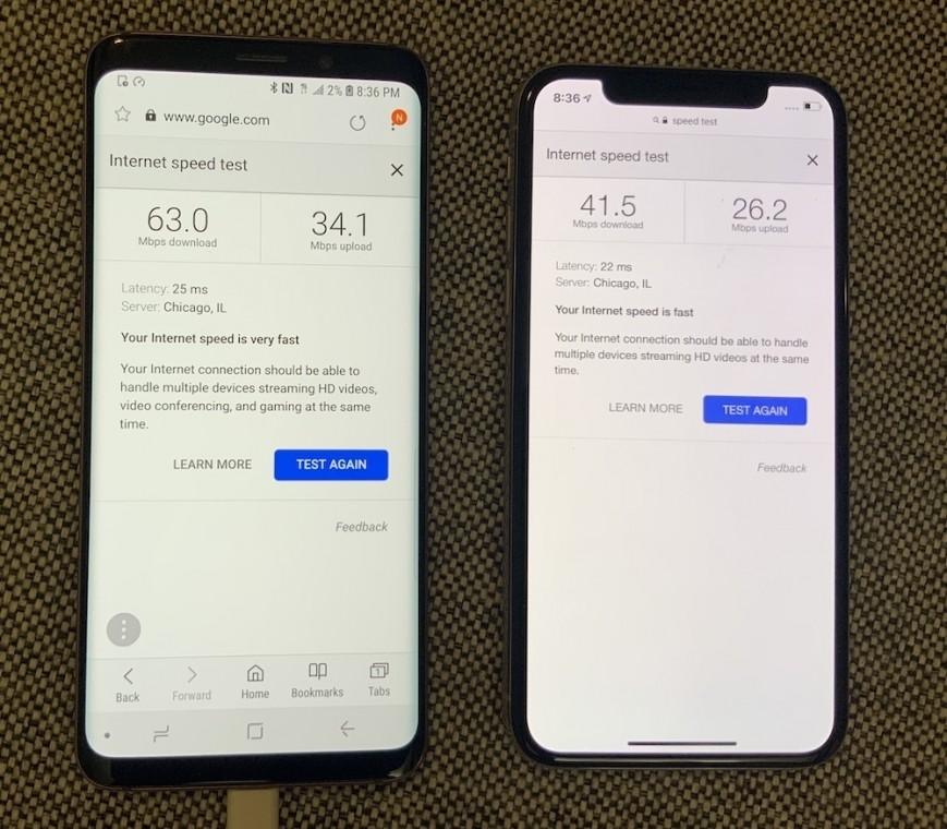 У новых iPhone оказался более медленный Wi-Fi, чем в старых iPhone и Samsung