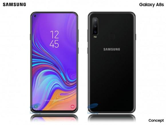Раскрыты характеристики первого смартфона Samsung с «дырявым» дисплеем