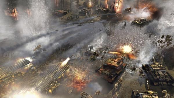 Стратегия Company of Heroes 2 доступна бесплатно в Steam