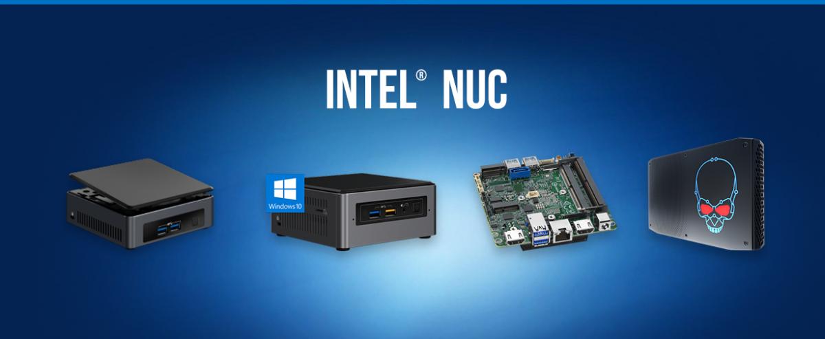 Intel выпустит рекордно мощный компьютер в корпусе размером с бутылку воды