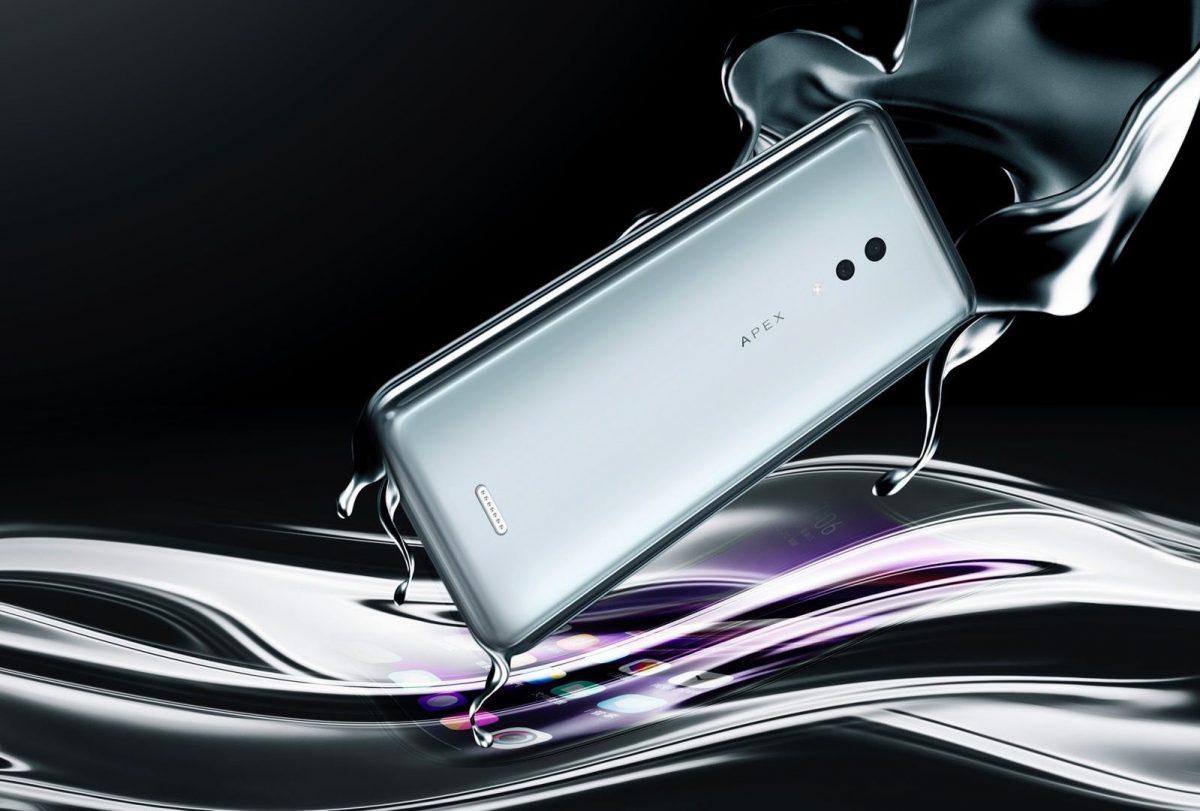 Vivo тоже представила смартфон без портов и отверстий