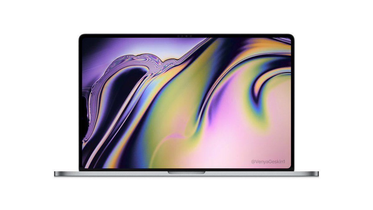Apple выпустит 16-дюймовый MacBook Pro в новом дизайне