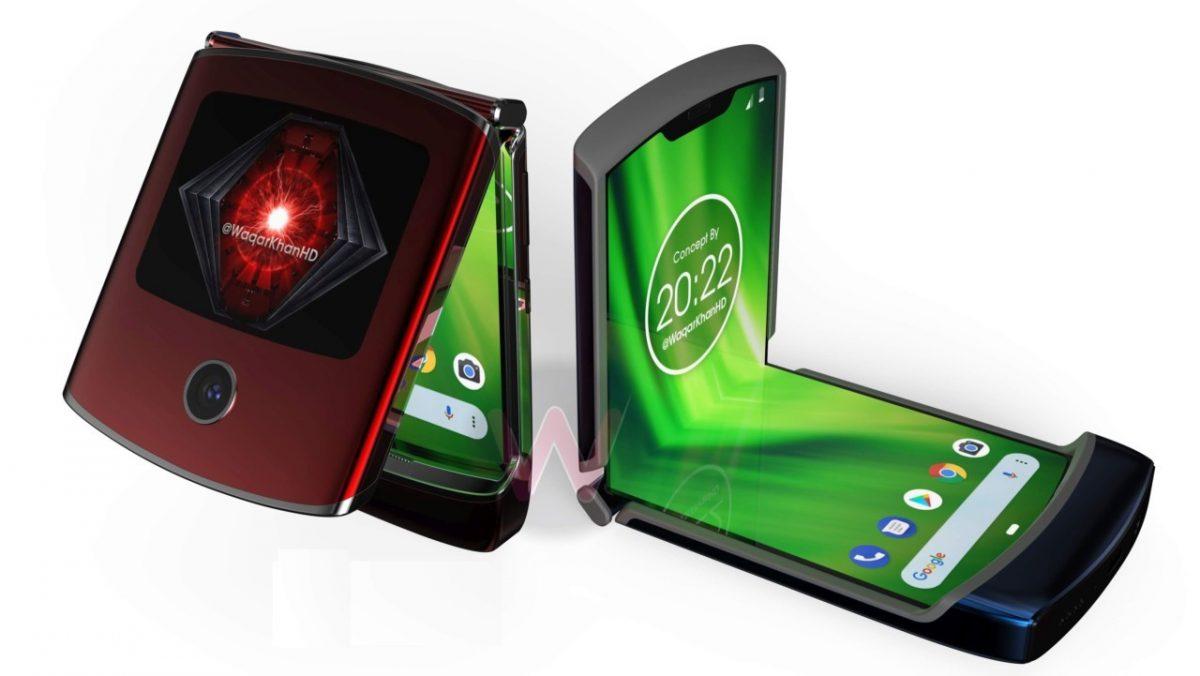Возможный дизайн раскладушки Motorola RAZR 2019 показали на видео