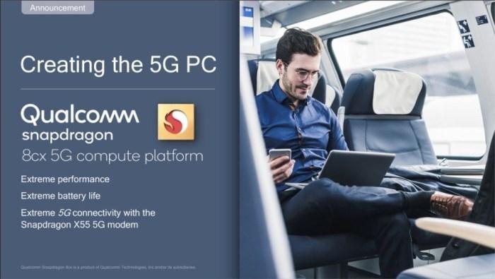 Qualcomm адаптировала мобильный флагманский процессор и добавила 5G для ноутбуков