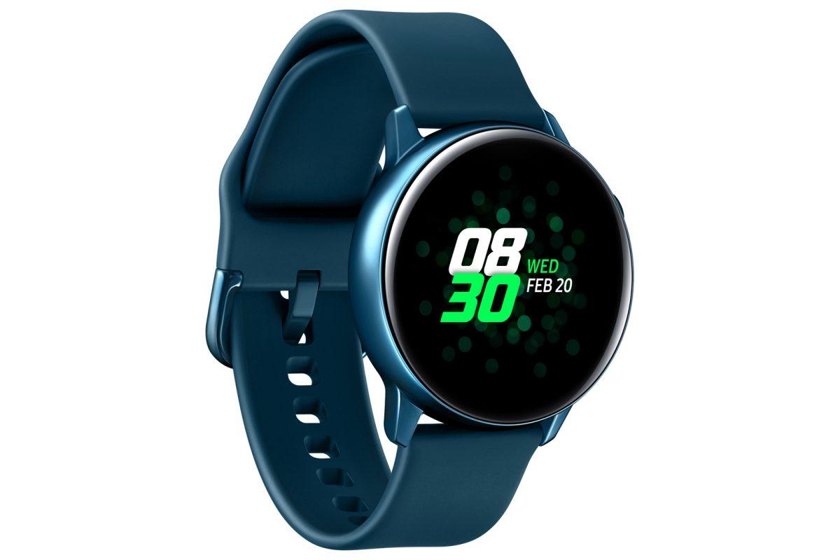 Samsung представила смарт-часы Galaxy Watch Active и фитнес-браслеты Galaxy Fit