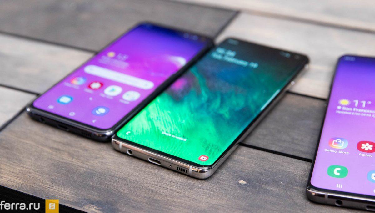 Samsung представила флагманские смартфоны Galaxy S10