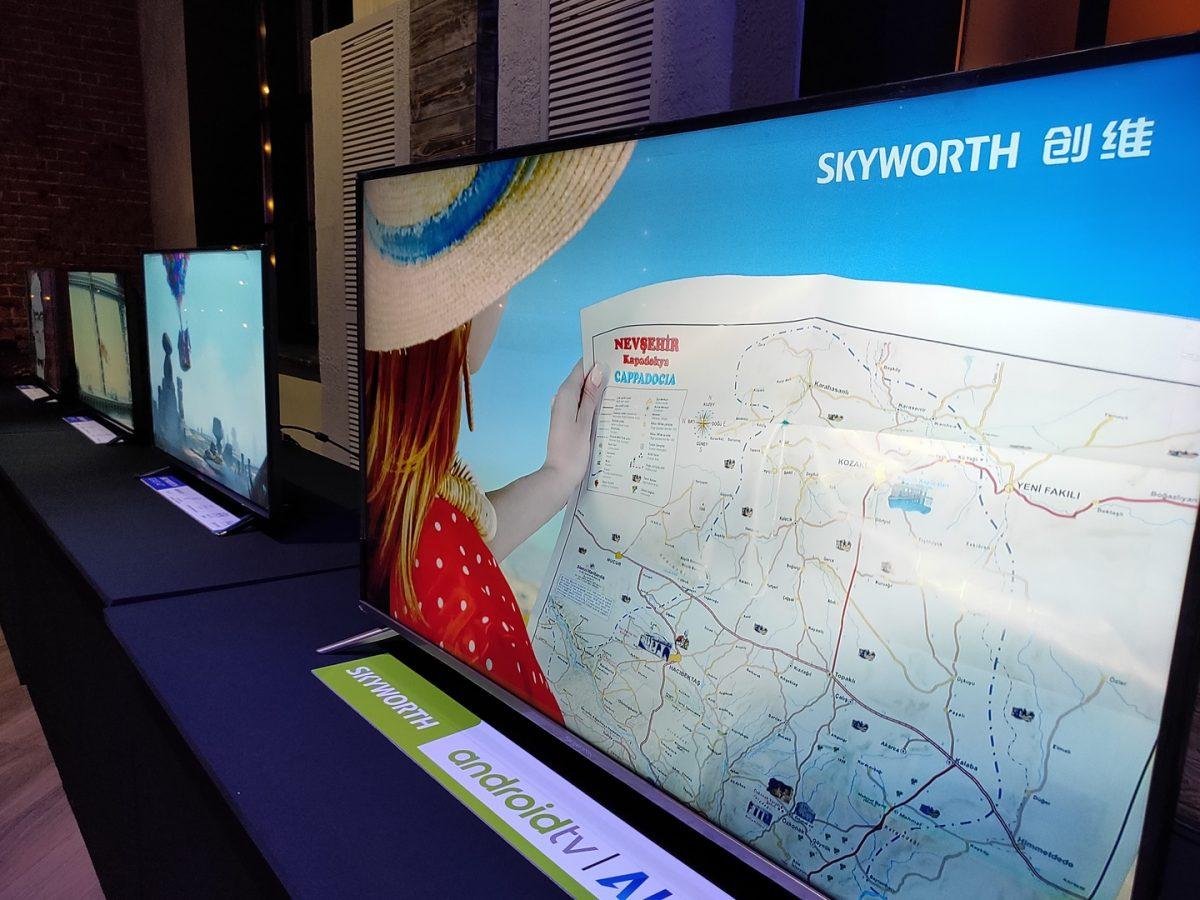 Китайский бренд телевизоров SkyWorth приходит официально в Россию