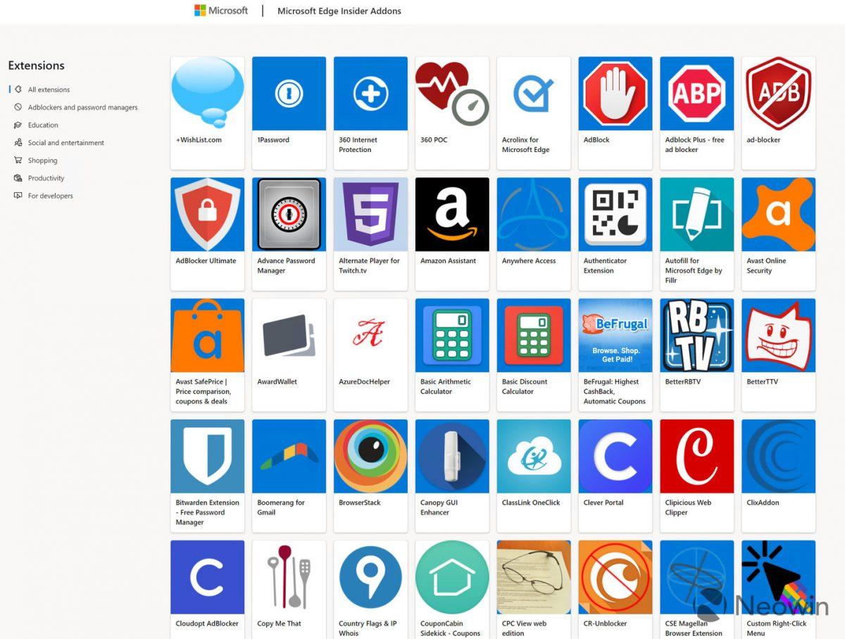 Первые изображения браузера Microsoft на движке Google Chromium
