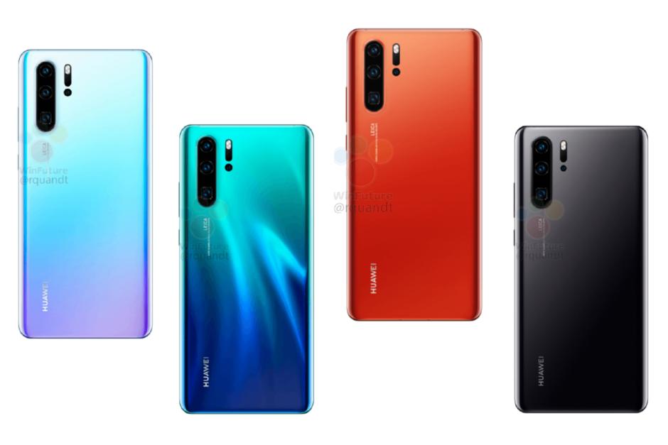 Раскрыты характеристики смартфонов Huawei P30 и P30 Pro