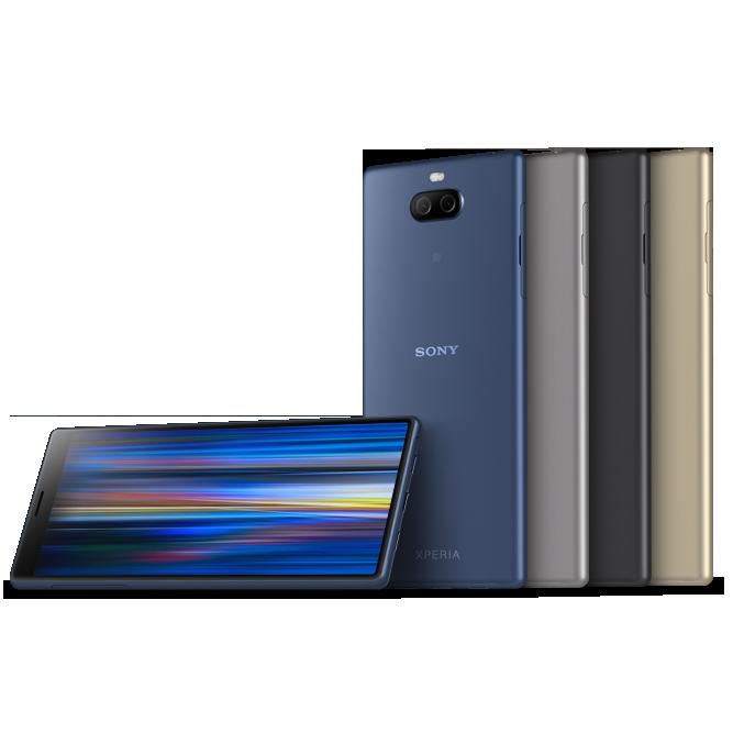 Смартфоны среднего класса Sony Xperia 10 и 10 Plus уже можно купить в России