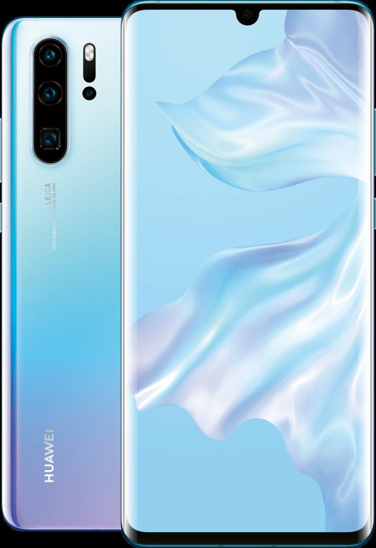 Смартфоны Huawei P30 и P30 Pro с суперкамерой показались на официальных изображениях