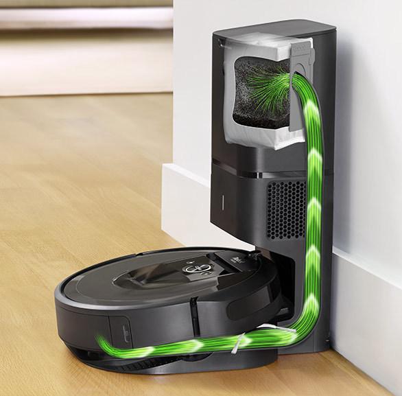 Умный робот-пылесос iRobot Roomba i7+ держит в «уме» пространственный план комнат и план уборки каждого из помещений