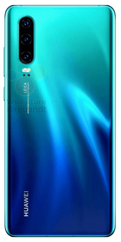 Huawei P30 и P30 Pro показались на новых качественных изображениях