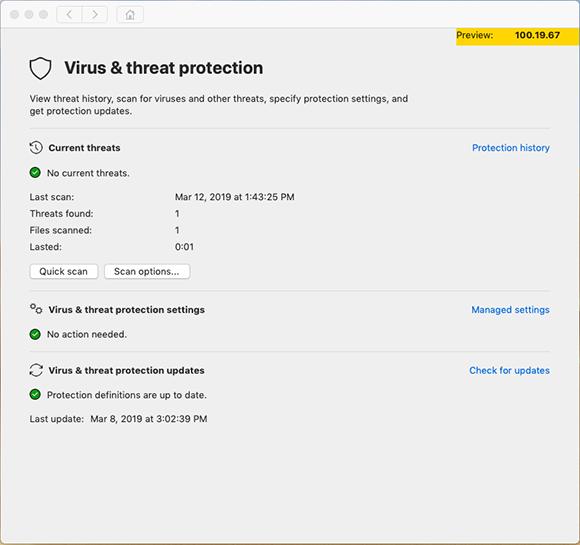 Microsoft выпустила антивирус «Защитник Windows» для компьютеров Apple