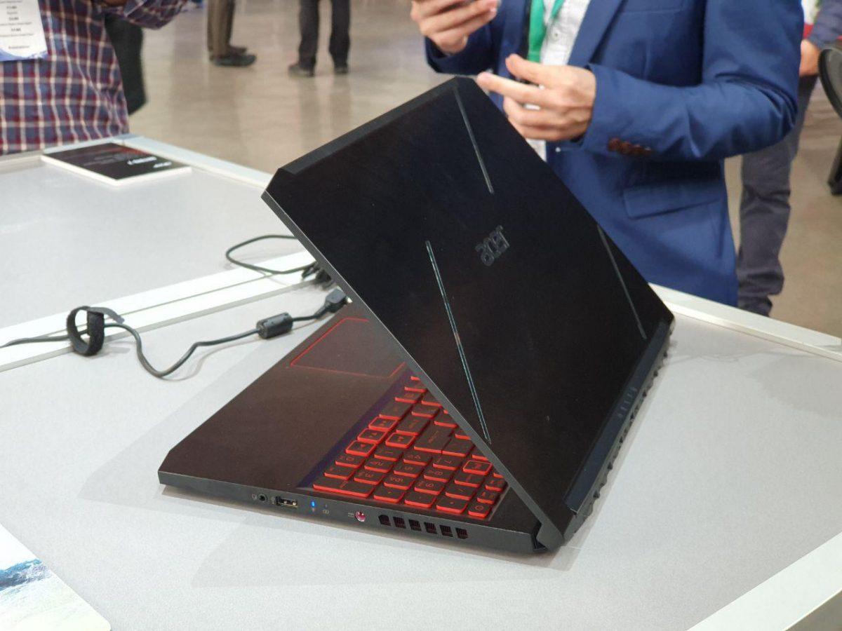 Acer представила ультратонкий игровой ноутбук Nitro 7