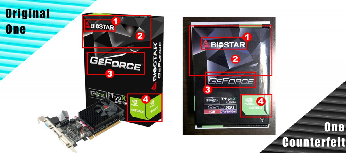 Biostar рассказала, какие модели видеокарт подделывают