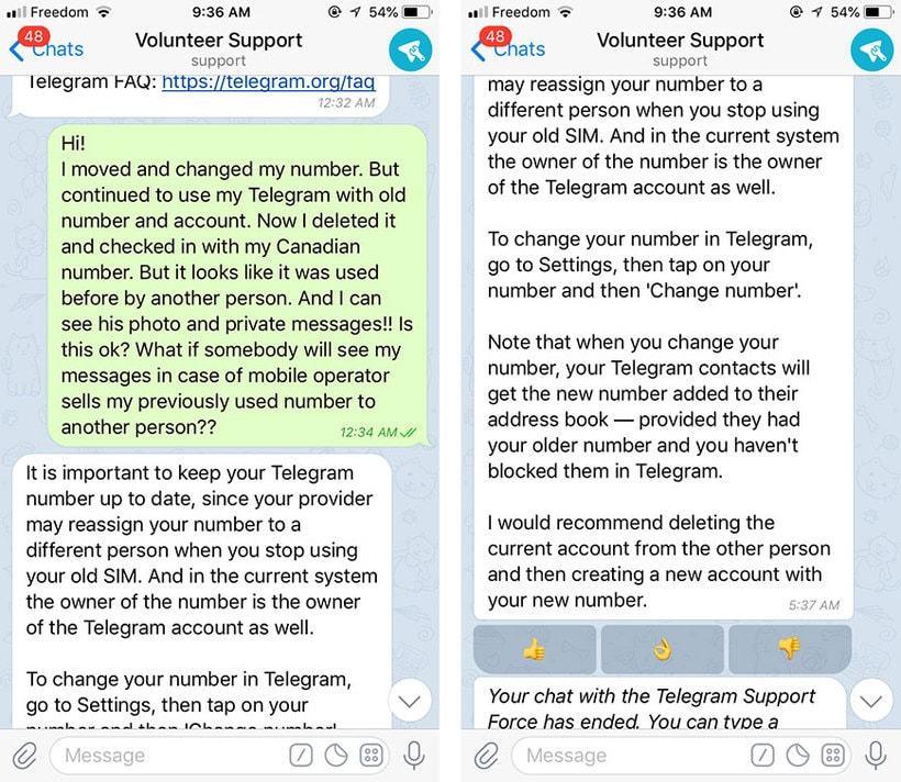 Оператор может продать всю историю Telegram вместе с SIM-картой