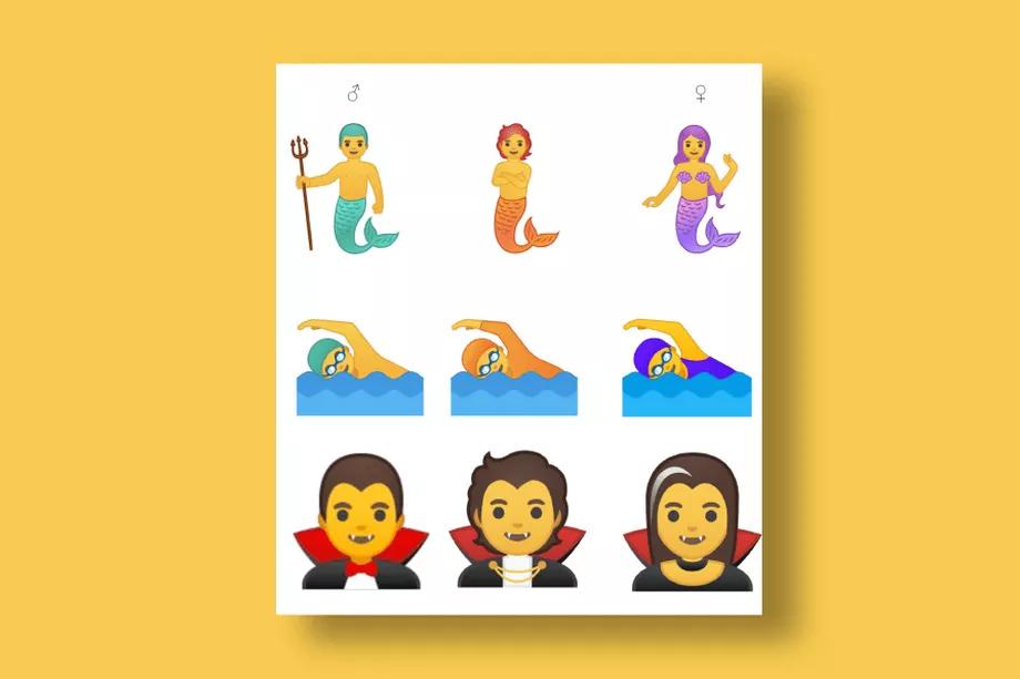 В новом Android появятся смайлики для трансгендеров