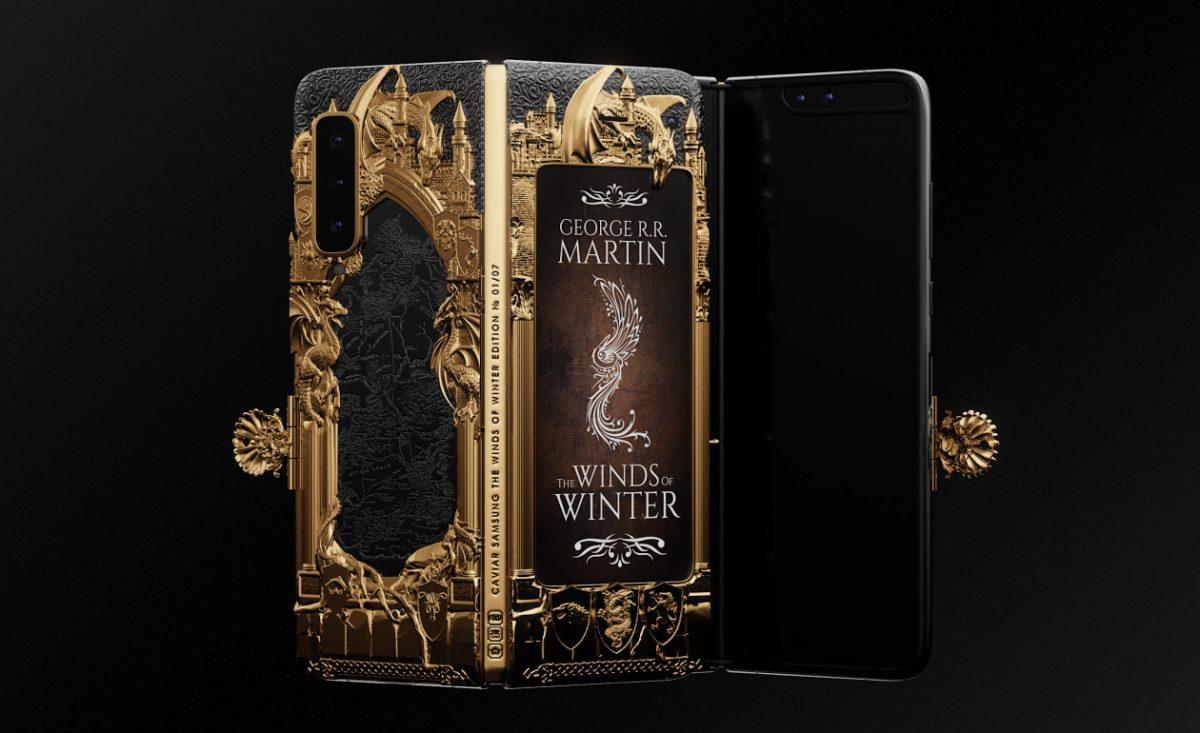 В России из складного Galaxy Fold сделали книгу по «Игре престолов»